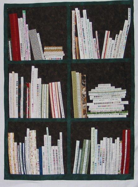 patchworkversand handarbeitshaus gröbern  bücherregalquilt ~ Bücherregal Quilt Anleitung