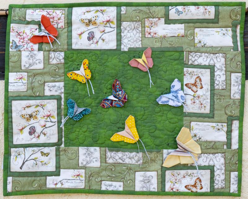 Quilt 10 – Schmetterlingsflug – Evelin Zilliges (Dresden)