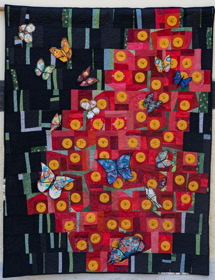 Quilt 17 – Papiliones – Belinda Zott (Dresden)