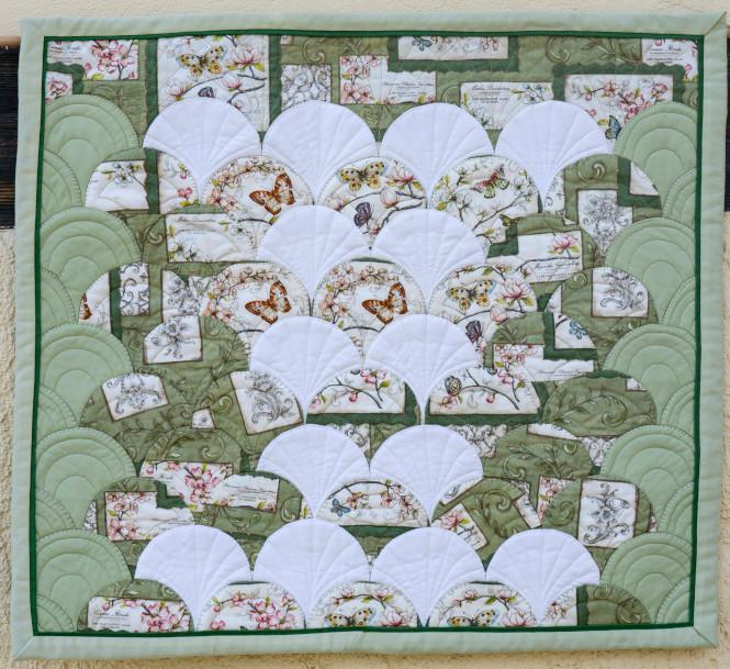 Quilt 6 – Im Schmetterlingsgarten – Marion Rauschenbach (Niederau)