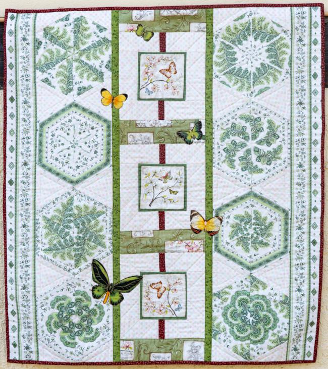 Quilt 8 – Schmetterlingsidylle – Petra Notzke (Dresden)