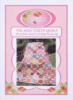 Paper Pieces Pie and Tarts-Quilt - groß