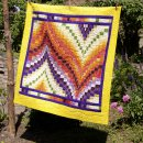Bargello-Quilt - Indian Summer